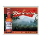 Budweiser King of Beers Tin Sign