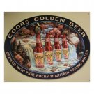 Coors Beer - Coors Waterfall Tin Sign