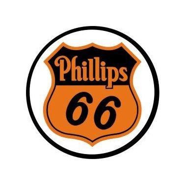 Phillips 66 Gas - Round Sign