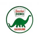 Sinclair Dino Gasoline - Round Sign