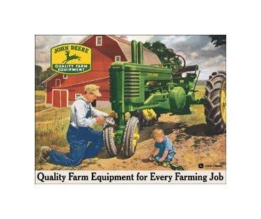 John Deere - Every Farming Job Tin Sign