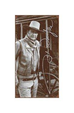 John Wayne - Signature Tin Sign