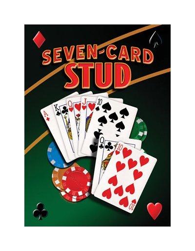 Seven Card Stud - Mike Patrick Tin Sign
