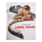 Lionel Trains - the Most Wonderful Day in a Boy's Life Tin Sign