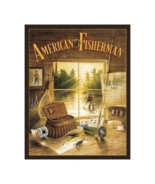 Fishing - American Fisherman Tin Sign