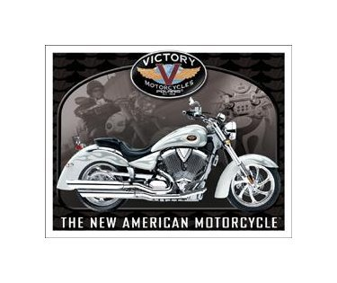 Victory Motorcycles - King Pin Tin Sign