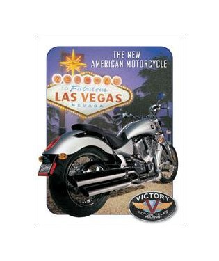 Victory Motorcycles - Las Vegas Tin Sign