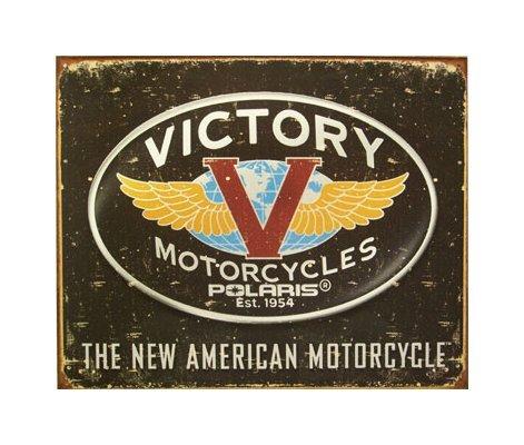 Victory Motorcycles - Logo Tin Sign
