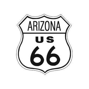 Route 66 - Arizona Tin Sign