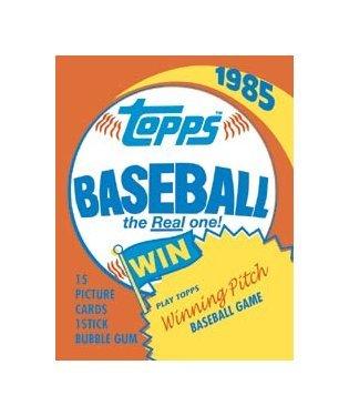 Topps Baseball - 1985 Topps Classic Tin Sign