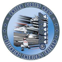 United States Navy - Defending America's Freedom Tin Sign