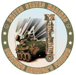 United States Marines - Defending America's Freedom Tin Sign