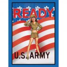 United States Army - Ready US Army Tin Sign