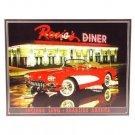 Rosie's Diner - Lucinda Lewis - Roadside America Tin Sign