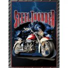 Steel Thunder - Motorcycle Tin Sign