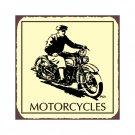 Harley Motorcycles - Metal Art Sign