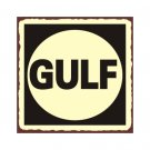 Gulf Oil - Metal Art Sign