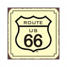 Route 66 - Metal Art Sign