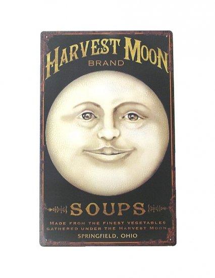 Harvest Moon Soups Tin Sign