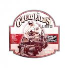 The Great Lakes Limited Train Tin Sign