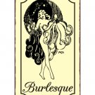 Burlesque Metal Art Sign
