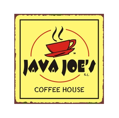 Java Joe's Coffee House Metal Art Sign