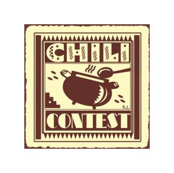 Chili Contest Metal Art Sign