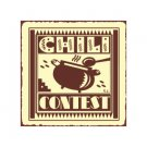 Chili Contest Metal Art Sign