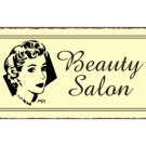 Beauty Salon Metal Art Sign