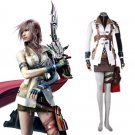 """Absolutely 1:1 Replica Final Fantasy XIII 13 Lightning Cosplay Costume(0652-0127-2)"