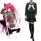 Japanese School Uniform Shakugan No Shana Cosplay Costume