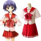 Japanese School Uniform To Heart 2 Cosplay Costume