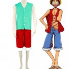 One Piece Luffy Cosplay Costume(Version 3)