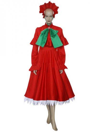 Rozen Maiden Shinku Pure Ruby Cosplay Costume