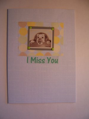 I Miss You - FREE shipping!