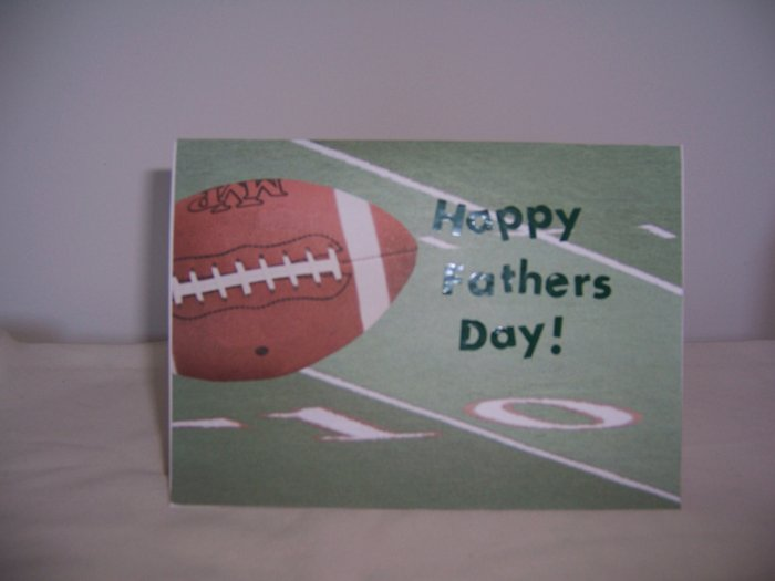 Football Father's Day Card - FREE shipping!