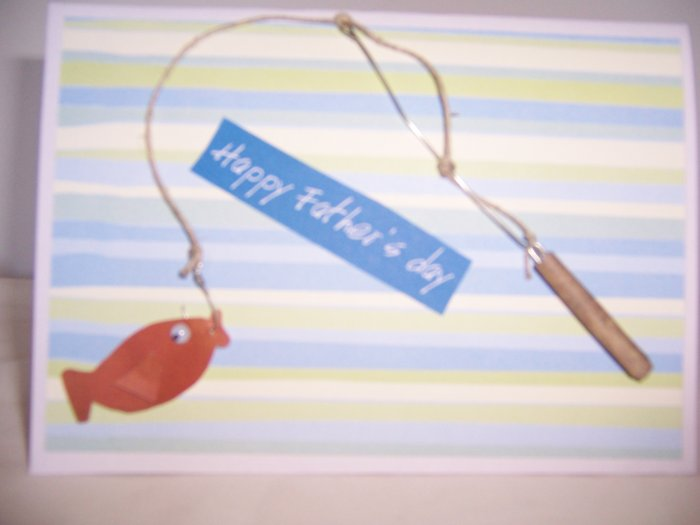 Fishing Father's Day Card - FREE shipping!