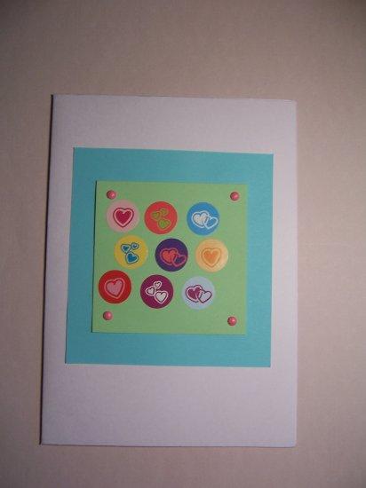 Hearts card - FREE shipping!