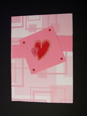 Contemporary Valentine - FREE shipping!