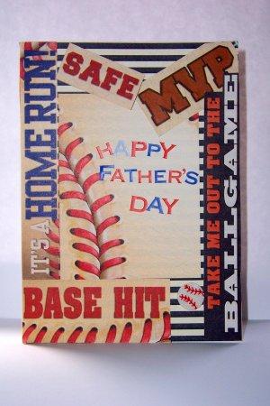 Baseball-loving Dad  - FREE shipping!