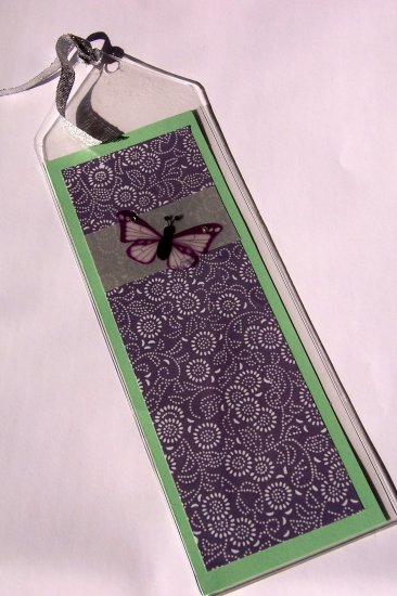 Purple Butterfly Bookmark- FREE Shipping!