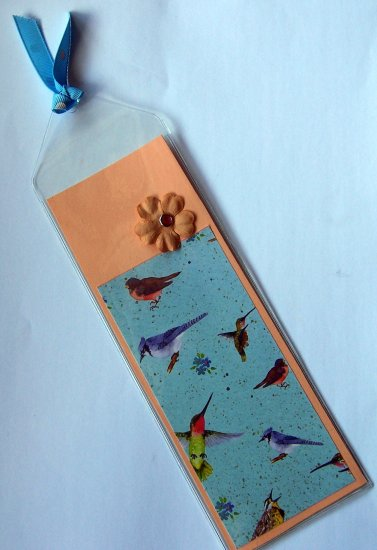 Bird Bookmark- FREE Shipping!