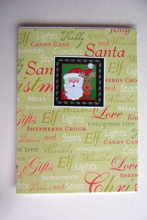 Santa card - 2 available - FREE shipping!