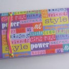 Bright checkbook cover - FREE shipping!