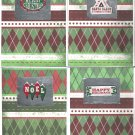 Set of 12 Christmas Cards - FREE shipping!