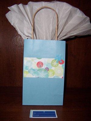 Happy Holidays Gift Bag - FREE shipping!