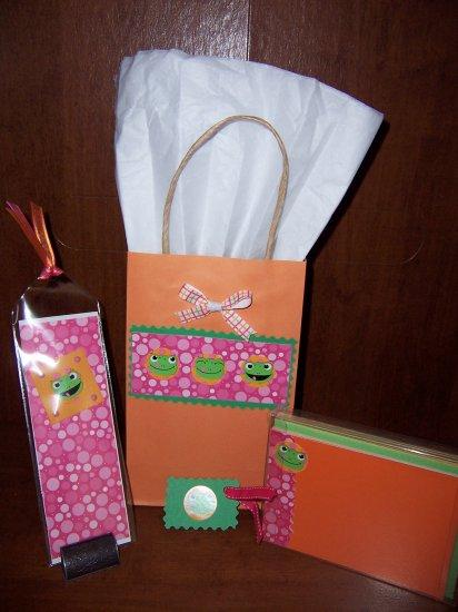 Frog Notecard Set- FREE Shipping!