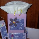 Lavender Stationary Gift Set -FREE Shipping