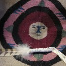 Owl Spirit Healing) Native Smudge Prayer Feather Wand Fan