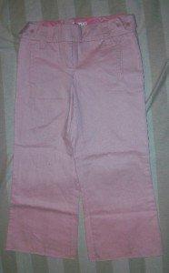 NWT WYETH Tab Detail Crop Chino Trouser Pants 2$332 NEW